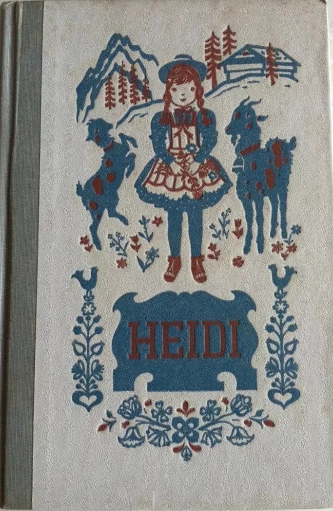 Junior Deluxe Editions Doubleday Classics 1954 Heidi
