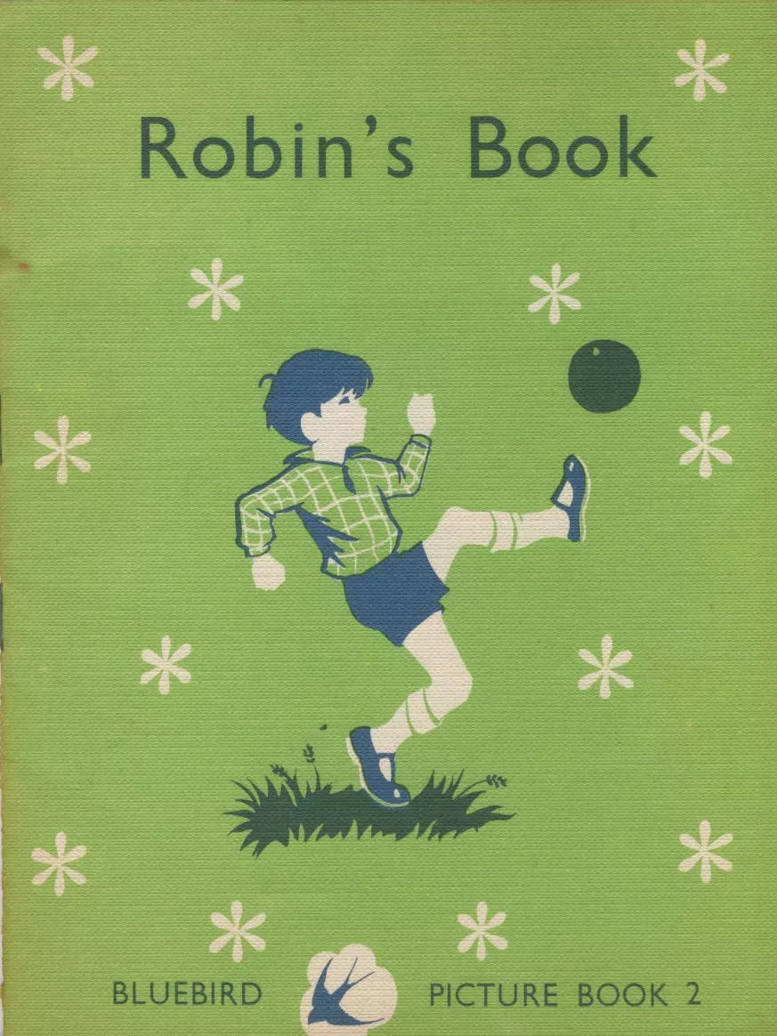 Janet Anne Grahame Johnstone Bluebird Picture Book Robins Book