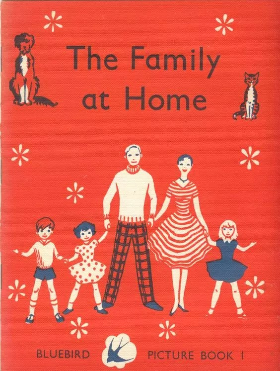 Janet Anne Grahame Johnstone Bluebird Picture Book The Family At Home