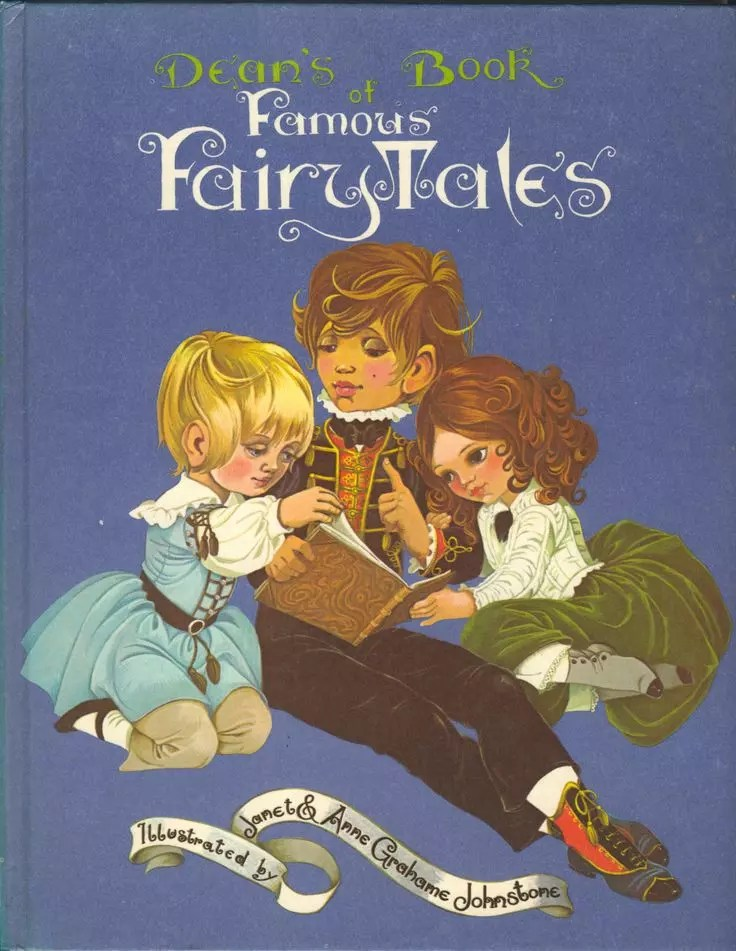 Janet Anne Grahame Johnstone Deans Book of Famous Fairy Tales