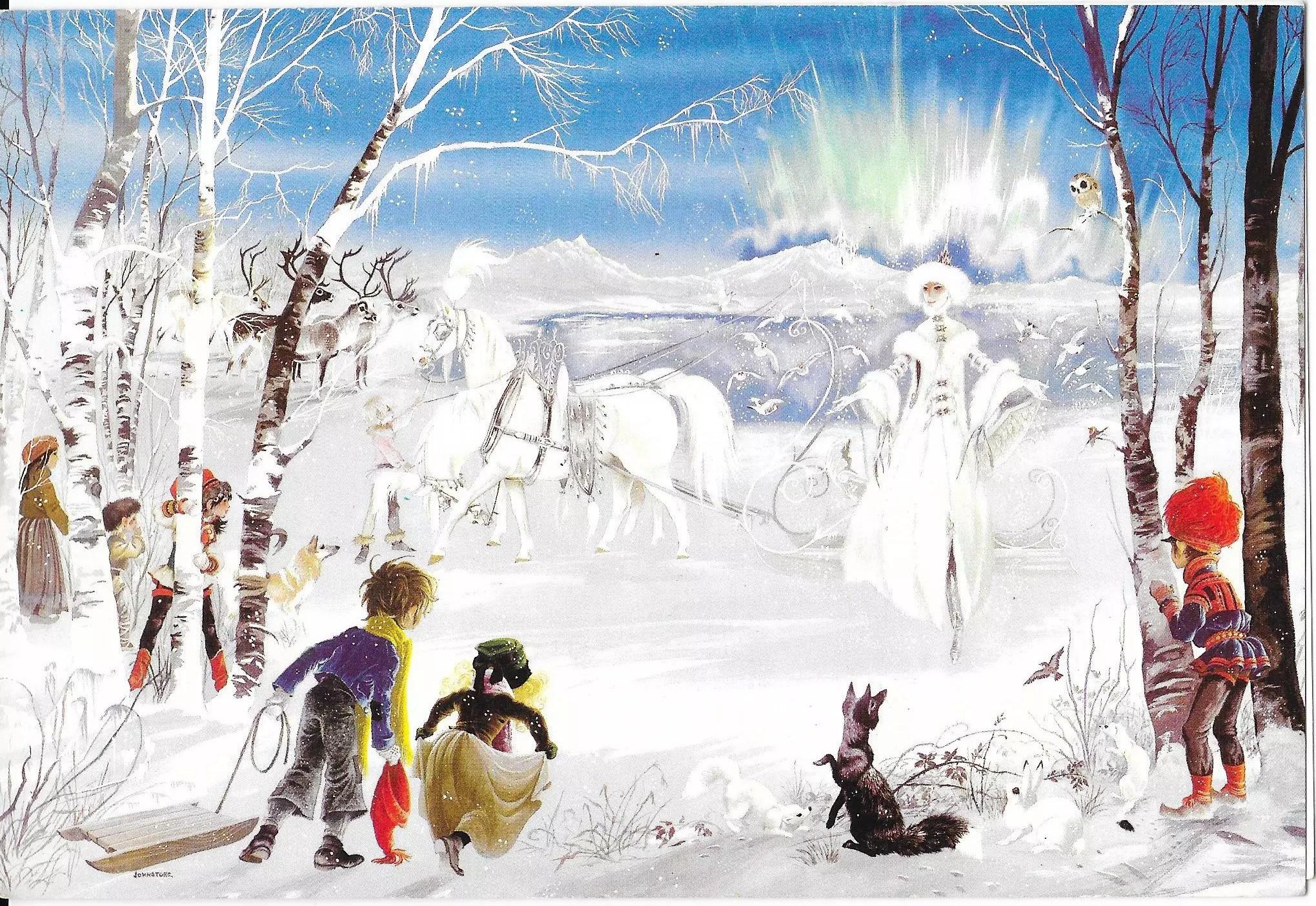 Janet Anne Grahame Johnstone illus The Snow Queen 2