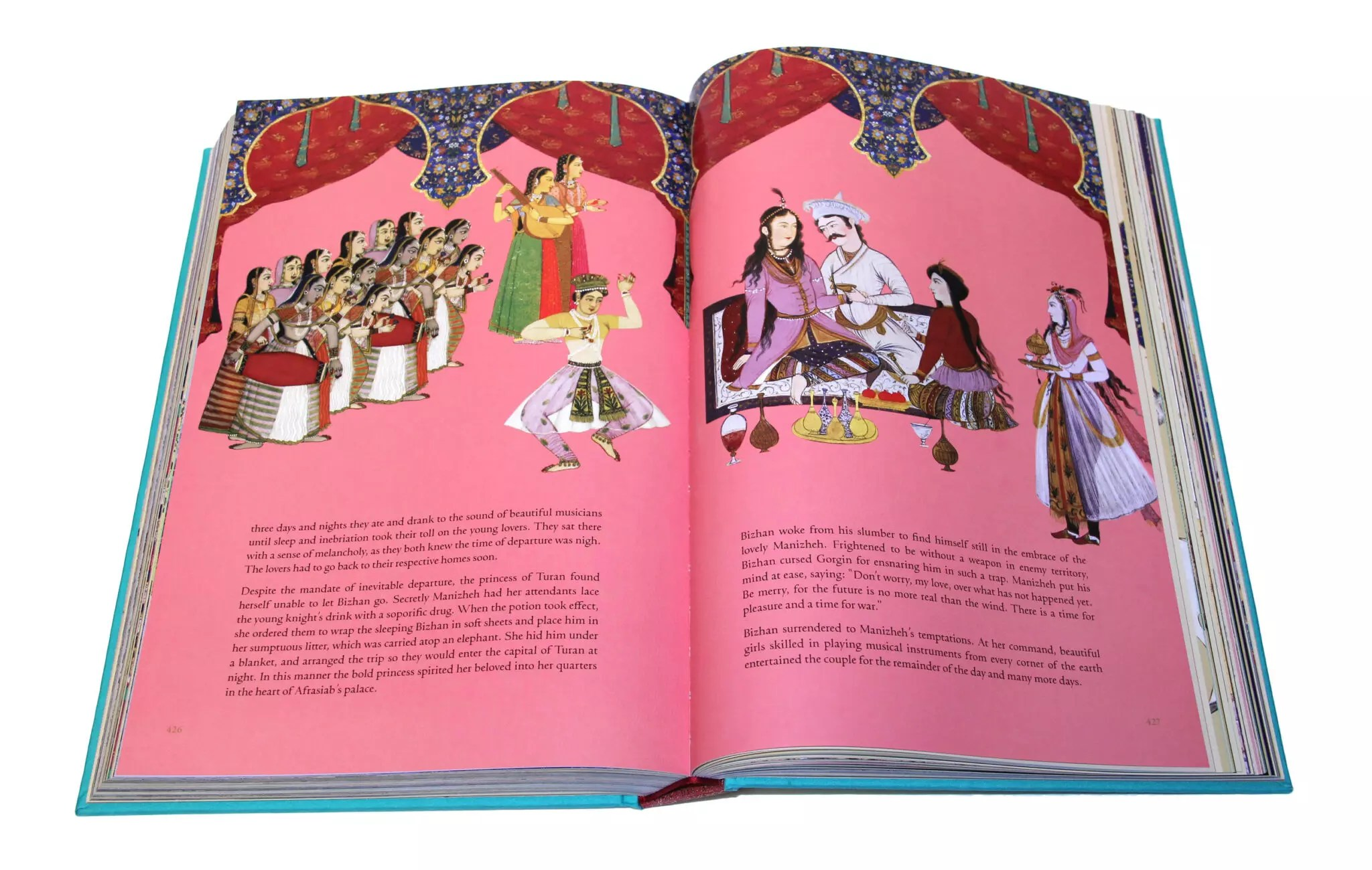 Shahnameh page426
