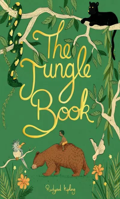 wordsworth collectors editions the jungle book by rudyard kipling