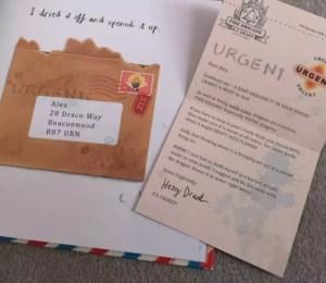 Dragon Post by Emma Yarlett Internals