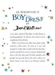 david walliams boy in the dress 10th ed intro