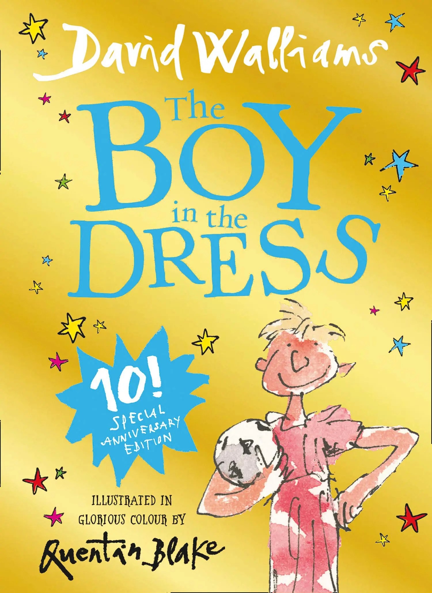 david walliams boy in the dress 10th ed