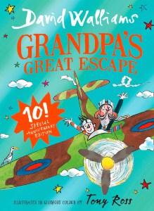 david walliams grandpas escape 10th ed