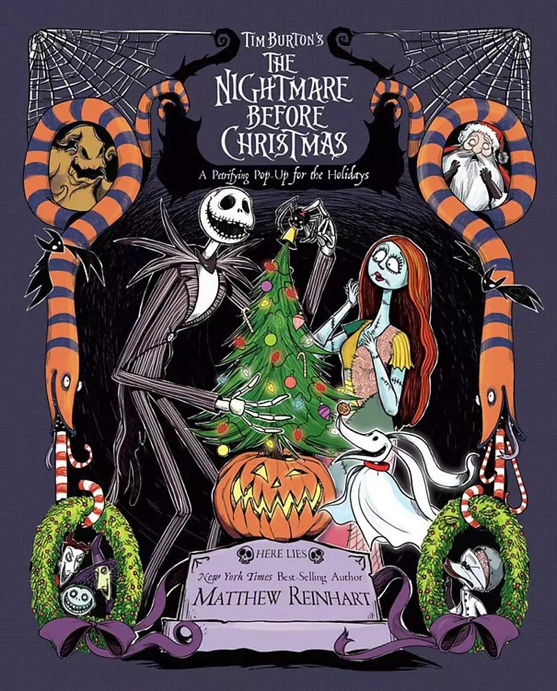 nightmare before christmas popup