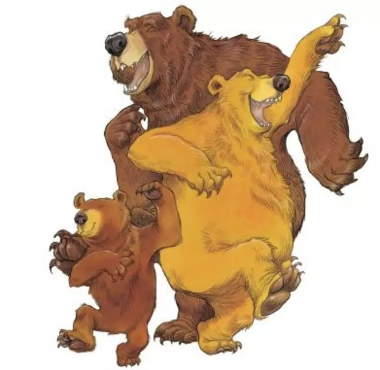 once upon a wild wood bears