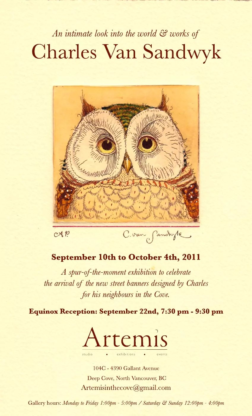 2011 CVS Artemis Gallery Poster