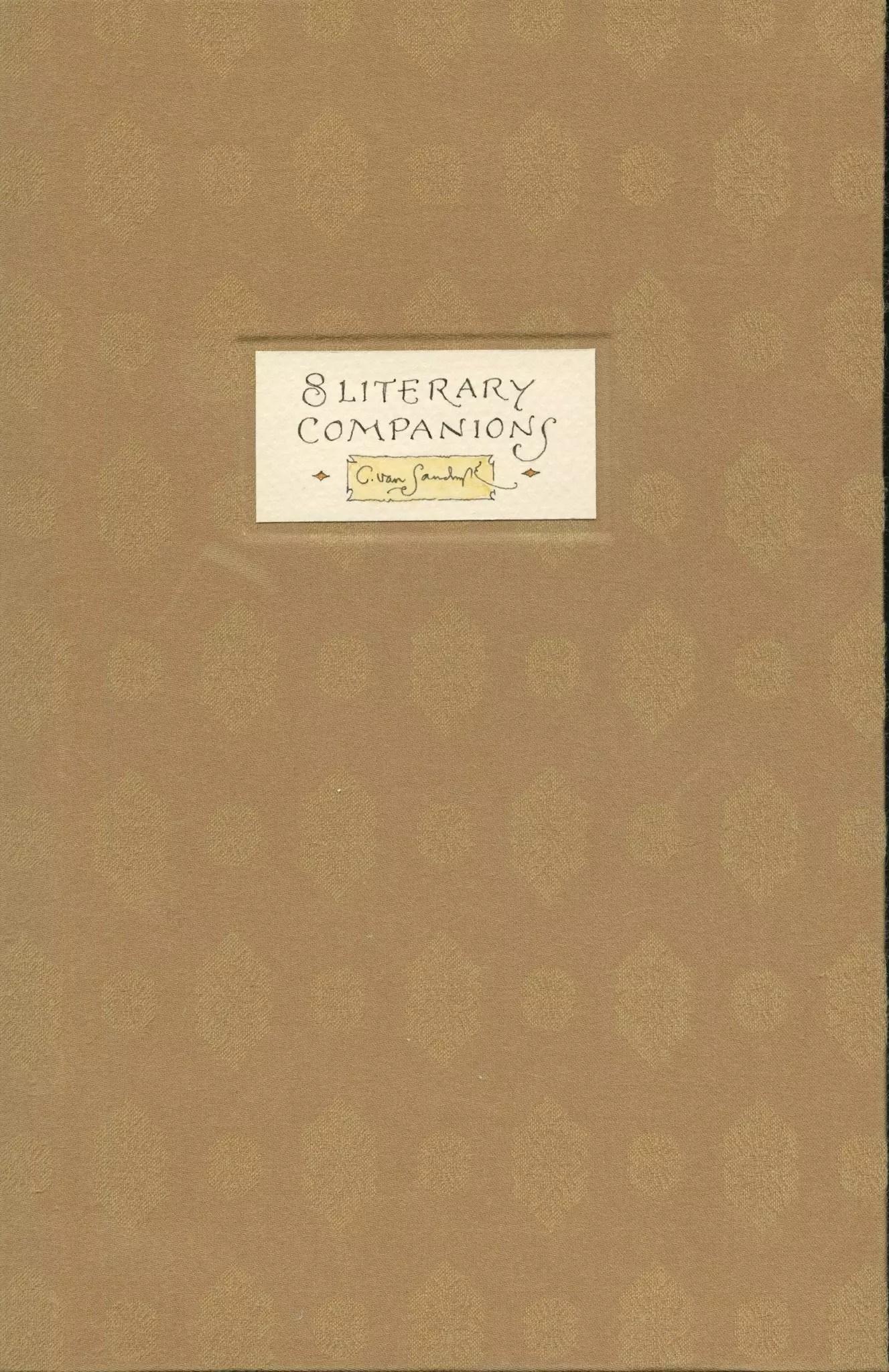 2018 CVS 8 Literary Companions cover