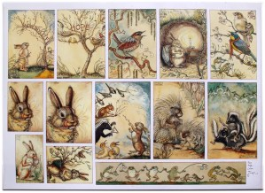 CVS Mr Rabbits Symphony of Nature printers proof