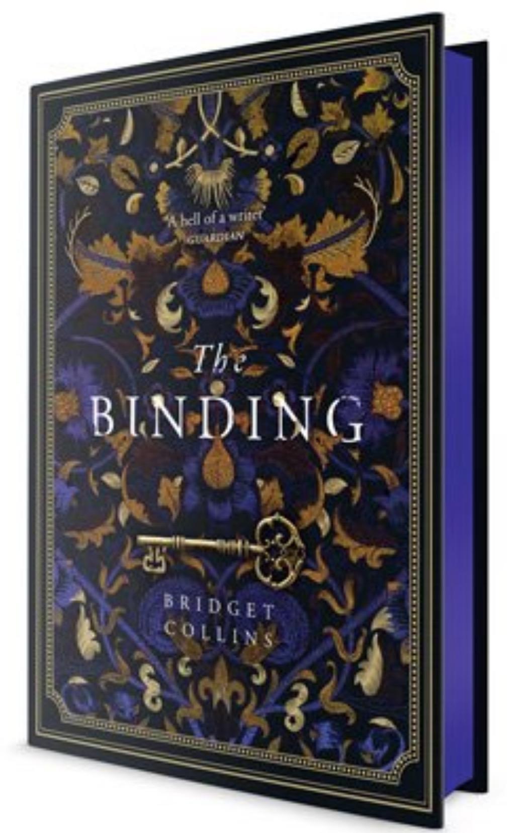 bridget collins the binding sprayed edges