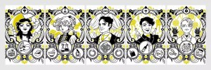 gilded tarot cards