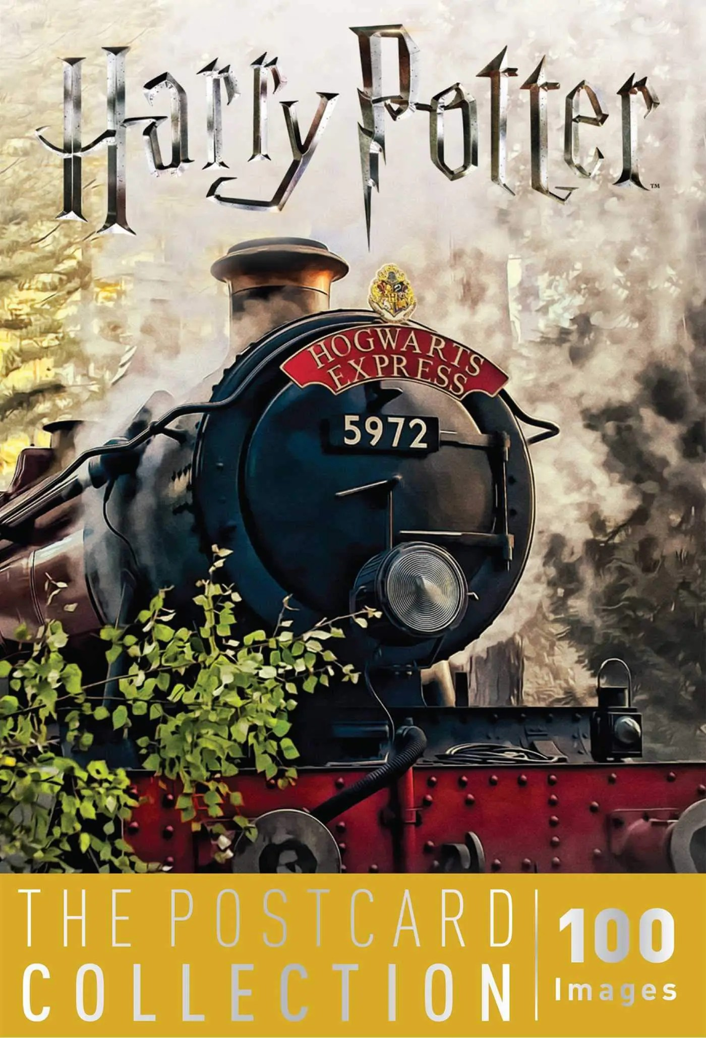 harry potter postcard collection cover