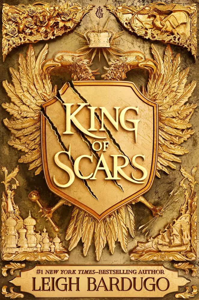 leigh bardugo king of scars cover