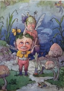 Harold Gaze Goblins Glen illustration