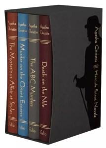 agatha christie FS poirot novels box set