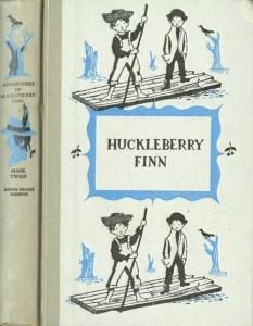 JDE Adventures of Huckleberry Finn FULL grey cover