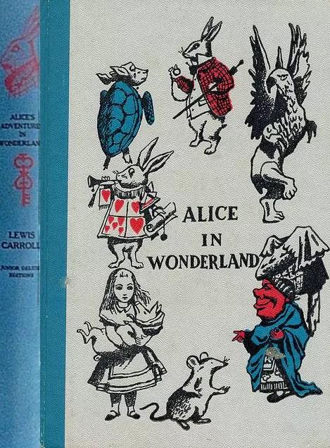 JDE Alice in Wonderland Tenniel FULL cover