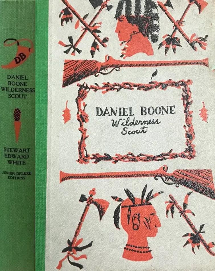 JDE Daniel Boone green cloth FULL cover