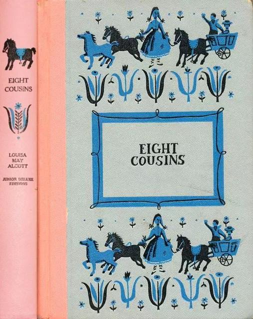 JDE Eight Cousins FULL pink
