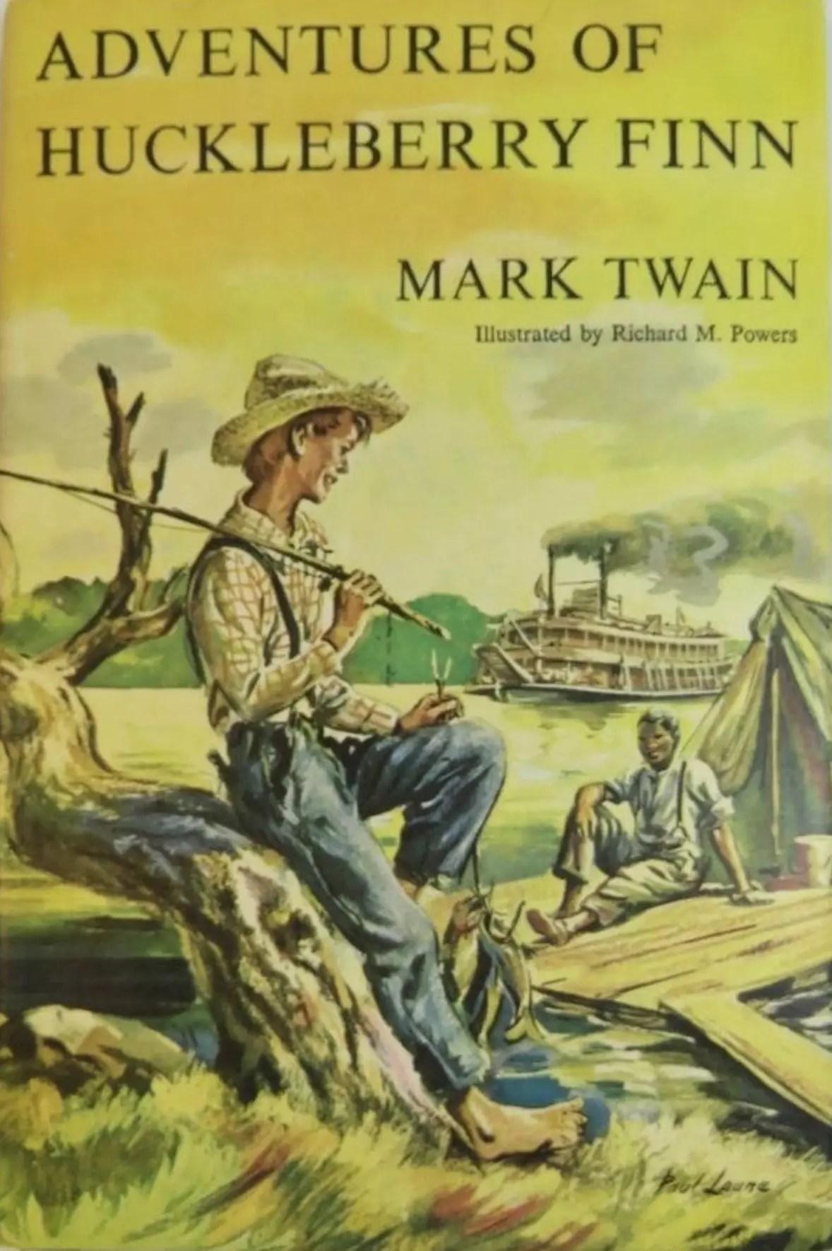 Junior Deluxe Editions The Adventures of Huckleberry Finn Mark Twain DJ
