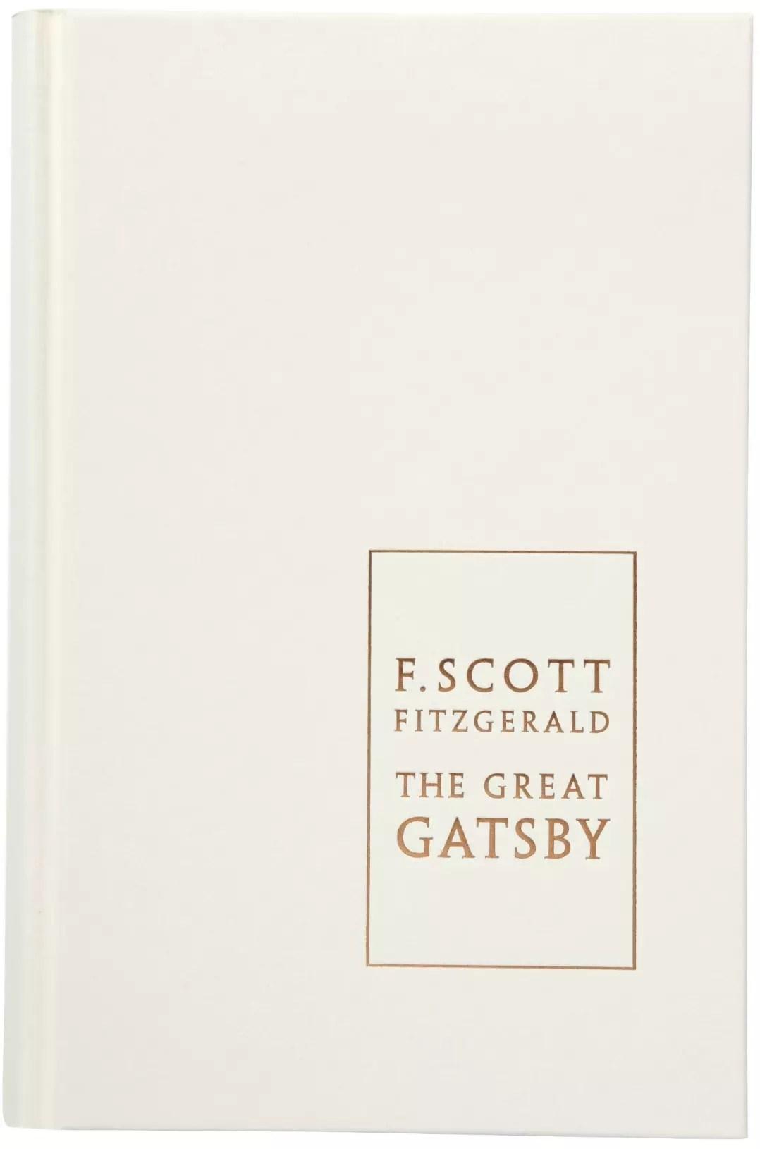 F Scott Fizgerald Foiled Great Gatsby boards