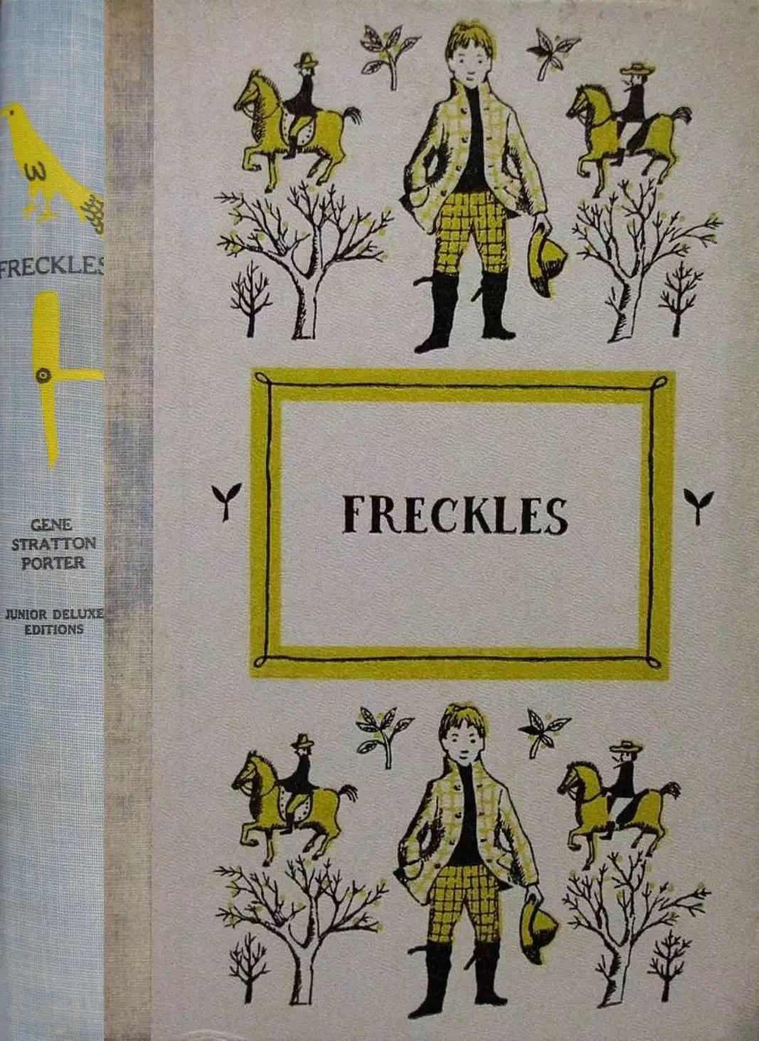 JDE Freckles blue spine FULL cover