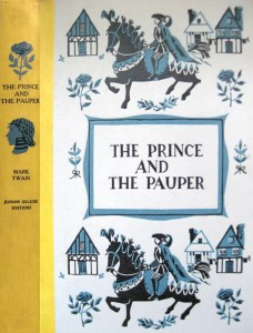 JDE Prince and the Pauper FULL yellow blue cover