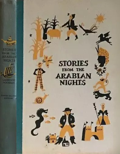 JDE Stories from the Arabian Nights FULL OLD cover