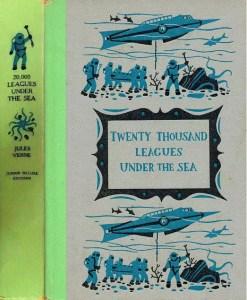 JDE Twenty Thousand Leagues Jules Verne FULL Cover Green
