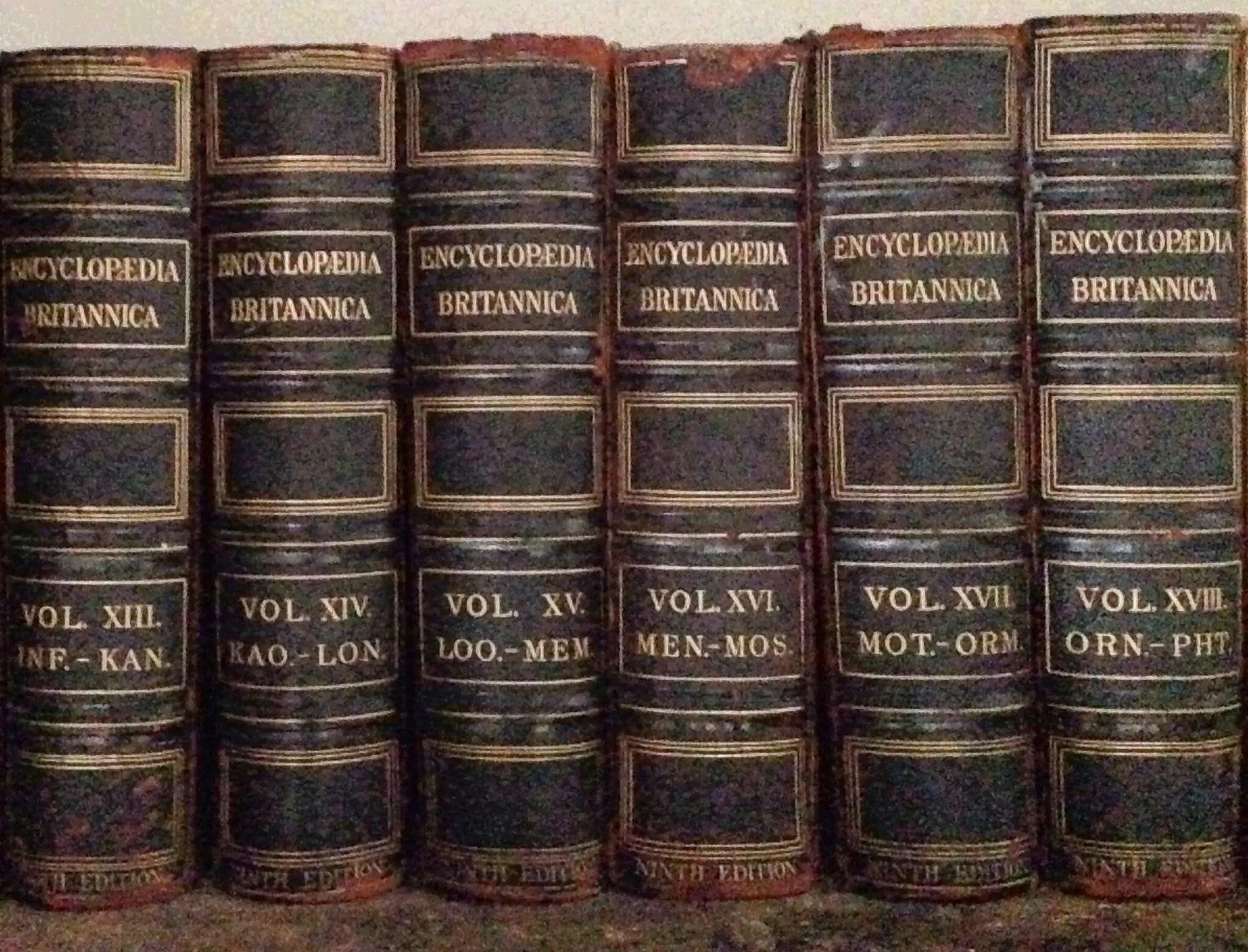 faq old encyclopedias