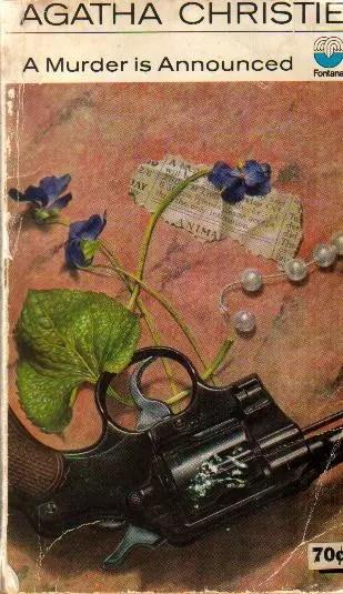 Agatha Christie Ian Robinson A Murder is Announced 2 Fontana 1