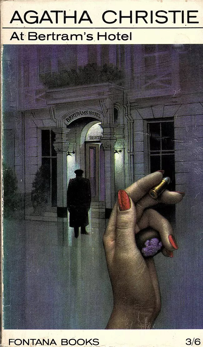 Agatha Christie Tom Adams At Bertrams Hotel Fontana 1968