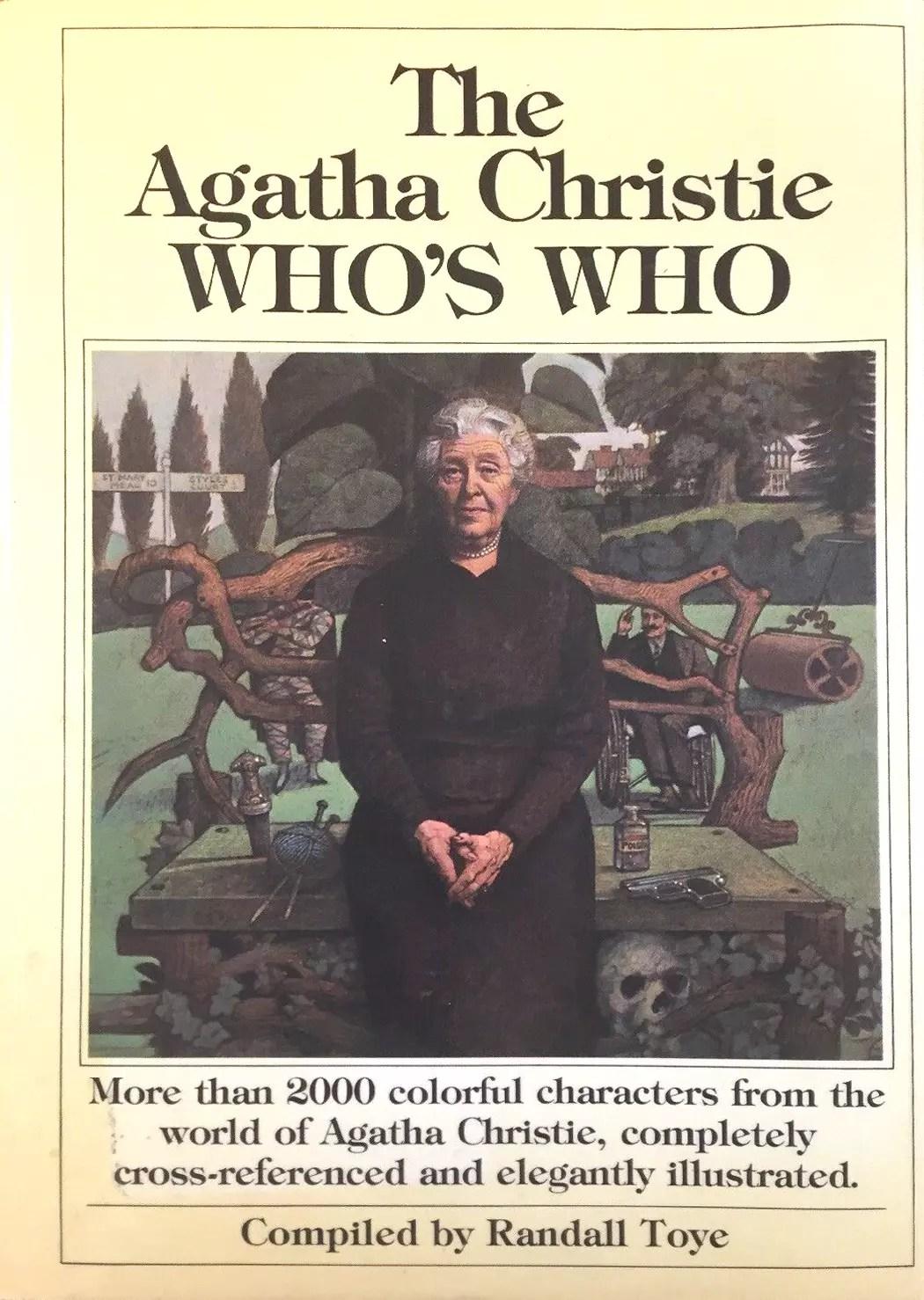Agatha Christie Whos Who Randall Toye Tom Adams