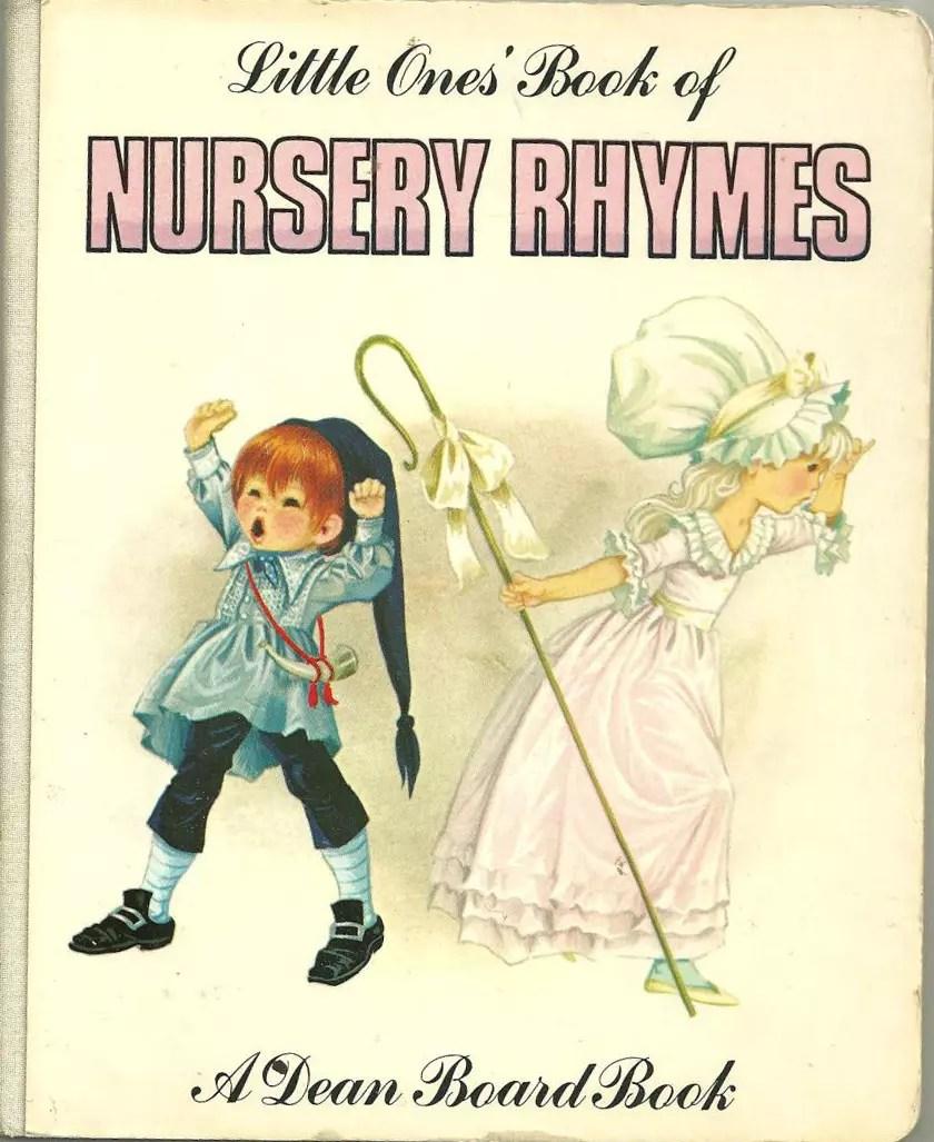 Janet Anne Grahame Johnstone Little Ones Book Of Nursery Rhymes white