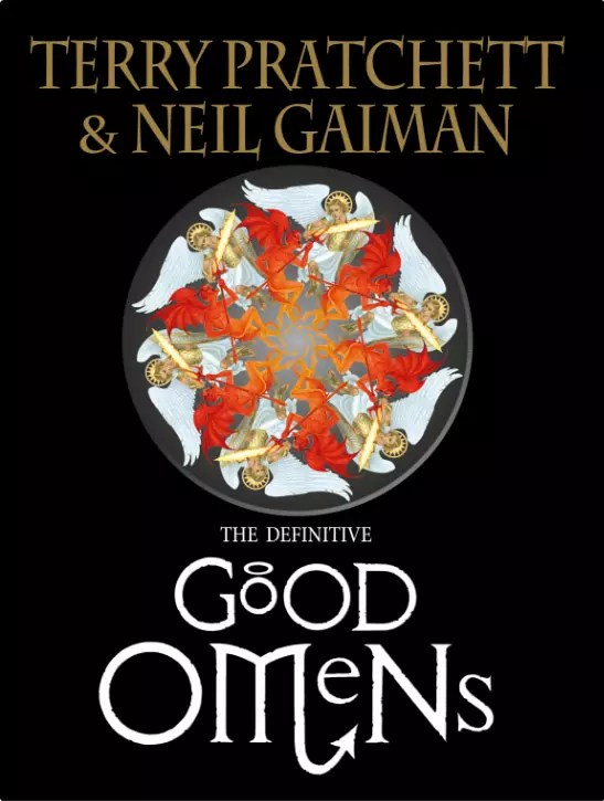 Definitive Good Omens cover