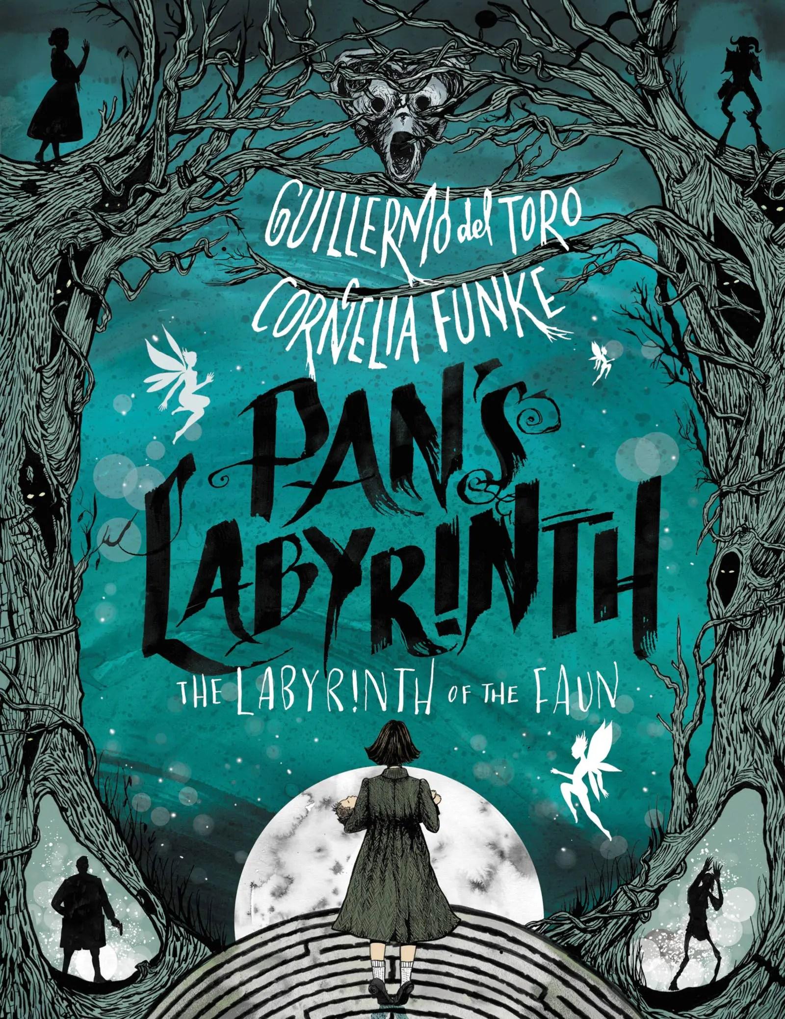 Guillermo Del Toro Cornelia Funke Pans Labyrinth US cover
