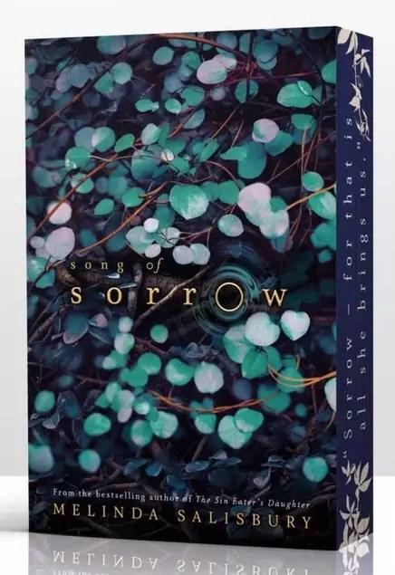 Melinda Salisbury Song of Sorrow sprayed page edges