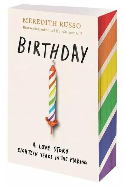 Meredith Russo Birthday Sprayed Page Edges