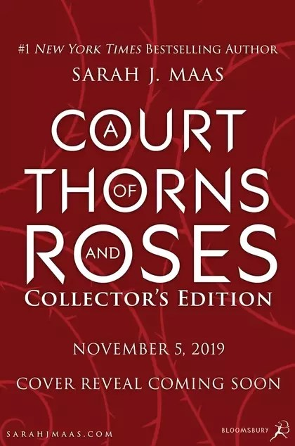 Sarah J Maas Court of Thorns and Roses Collectors coming soon 1