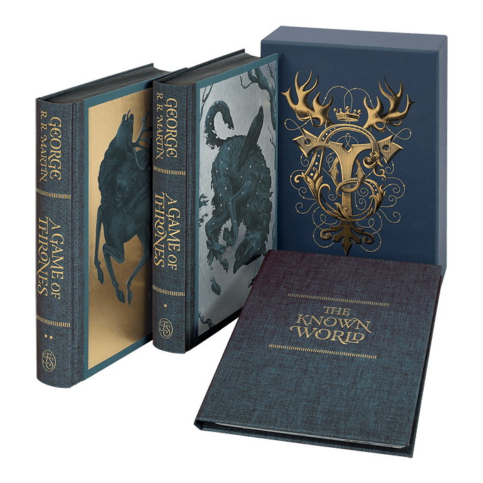 george martin game of thrones FS spread