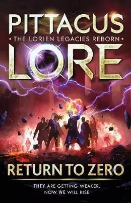 pittacus lore return to zero cover