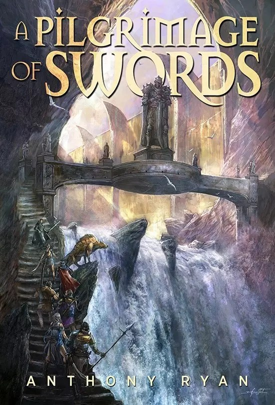 sub press anthony ryan a pilgrimage of swords cover