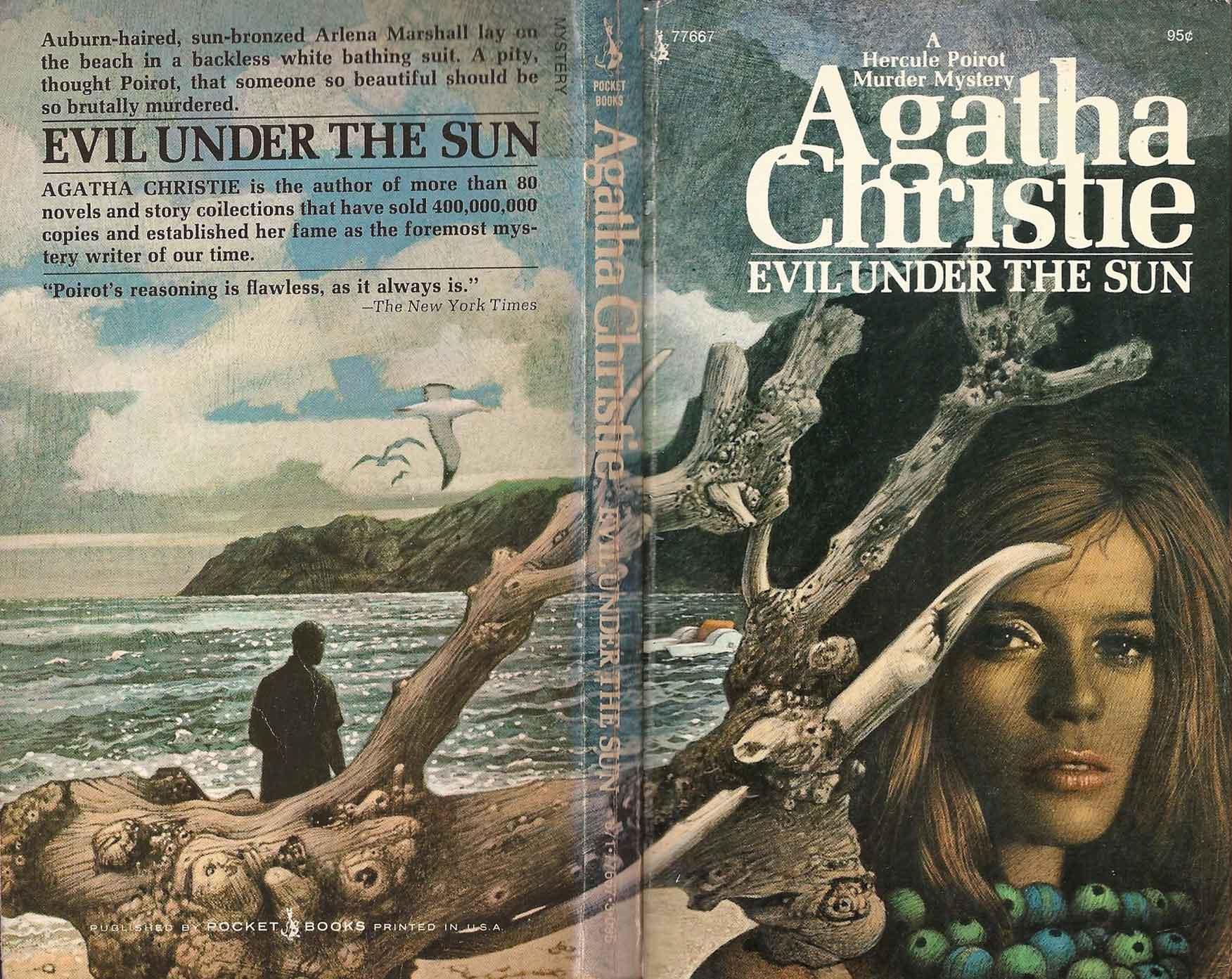 Agatha Christie Tom Adams Evil Under the Sun Pocket Books sm
