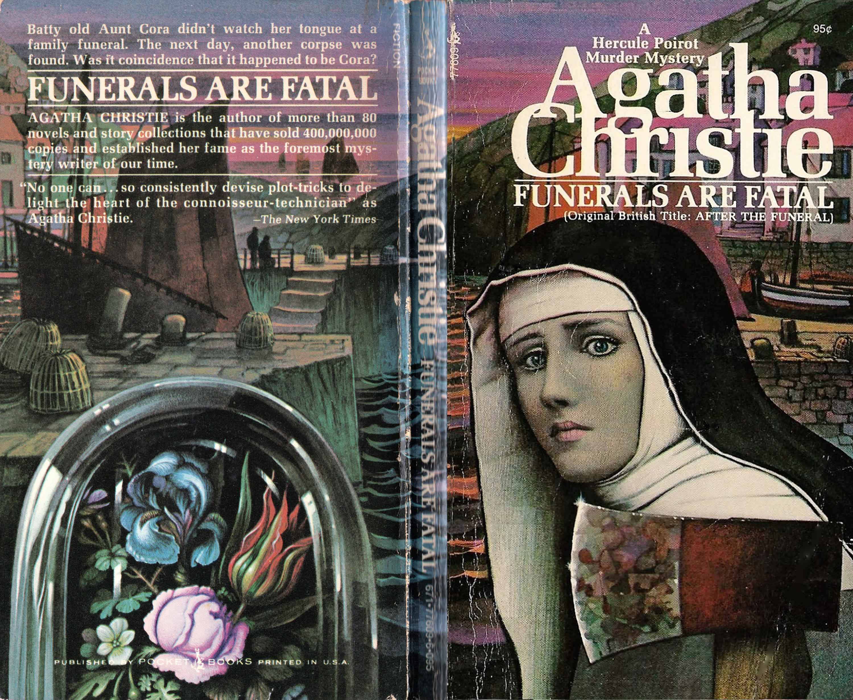 Agatha Christie Tom Adams Funerals Are Fatal Pocket Books sm