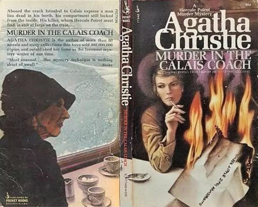 Agatha Christie Tom Adams Murder in the Calais Coach Pocket sm