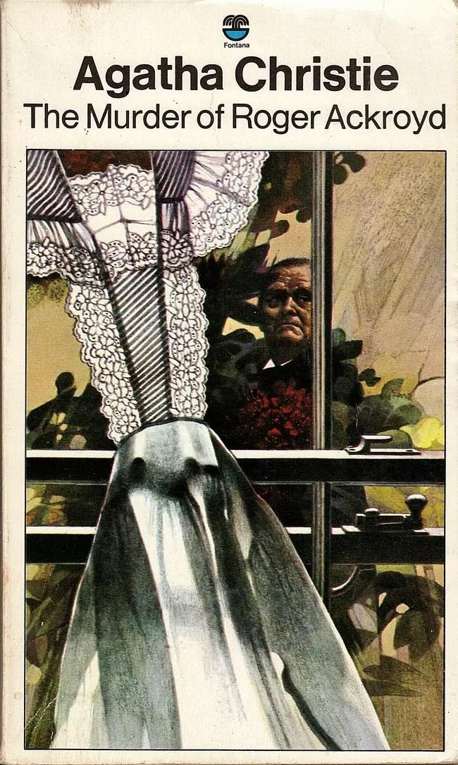 Agatha Christie Tom Adams The Murder of Roger Ackroyd Fontana