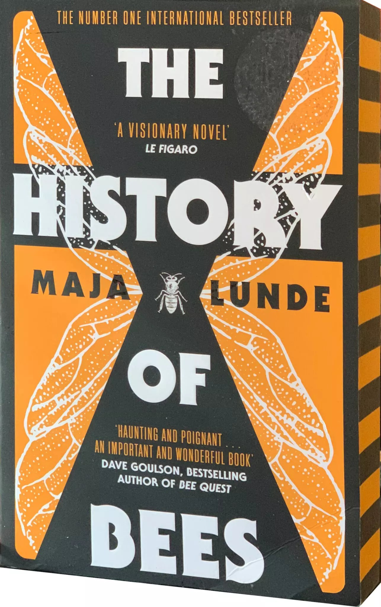 Maja Lunde The History of Bees sprayed edges